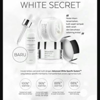 Paket Wardah White Secret Series Besar 3 Item