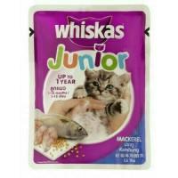 makanan kucing - wiskas sarden saset