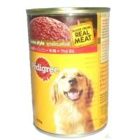 makanan dogy basah Pedigree