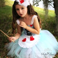 Tutu Dress Costume - Alice In Wonderland - Mini Dress