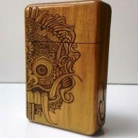 Jual Barong Wooden Cigarette case CIG024 | Kotak rokok Murah