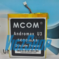 Baterai Battery Smartfren Andromax U3 5000mAh MCOM Double Power