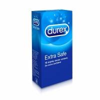 Jual kondom durex extra safe isi 12 buah kontrasepsi sehat KB pria wanita Murah