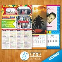 Jual Kalender Custom 4 bulan'an 2016 Murah