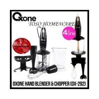 Oxone OX-292 Blender Tangan & Penggiling, Hand Blender and Chopper
