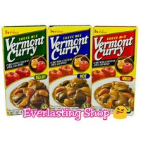 House Vermont Curry ( Mild , Medium Hot , Hot ) Japanese Curry