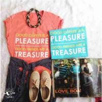 G9-14 Kaos Pleasure Treasure (LD+-85cm)