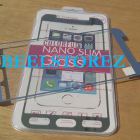Tempered Glass WARNA Samsung Galaxy A8 GOLD SILVER anti gores kaca spy