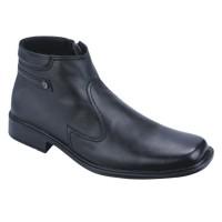 Sepatu boots formal pantofel kulit pria kerja trendi Catenzo BN 104