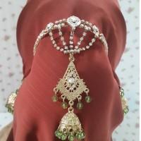 harga Gelang Jilbab India Rumbai Hijau Tokopedia.com