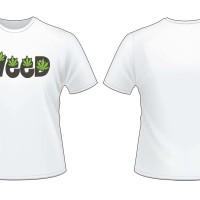 "kaos / t-shirt "" Cartoon hands rolling joint weed pot 420 funny design"