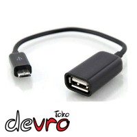 Kabel USB OTG Cable Multifunction Mobile Phone - Hitam