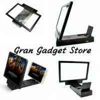 harga Enlarge Screen Magnifier Bracket Stand 3D with Speaker for Smartphone Tokopedia.com