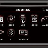 harga Nakamichi Na1550 - 2din Monitor Bonus Kamera Parkir Universal Tokopedia.com