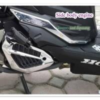 harga Garnish Radiator Dan Side Body Vario 125 / 150 Esp Chrome Tokopedia.com