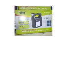 VDR V 1388S-U (Sistem Tenaga Surya&pemutar Mp3&radio + Senter + Emergency