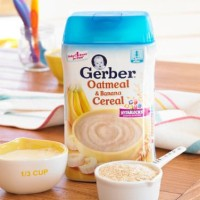 Gerber Oatmeal & Banana Cereal 8 oz