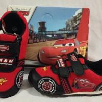 harga Sepatu Kets Anak Cars Merah Mc.queen 26, 27, 28, 29, 30 / Mc. Queen Tokopedia.com