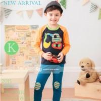 Baju Tidur Piyama Pyjamas Anak Laki-laki  Gw-131k