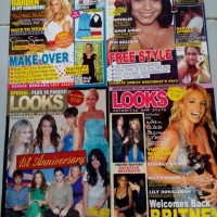 majalah second Looks Celebrity And Style