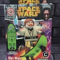 Jual Lego Star Wars Obi Wan Kenobi Bootleg ukuran besar Murah