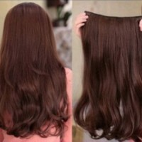 Wig Sambung Rambut Palsu High Quality/ layer 50 cm