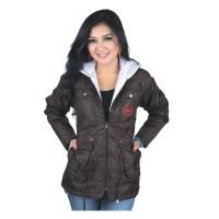 harga Jaket hoodies wanita casual sweater trendi motor murah Catenzo NU 072 Tokopedia.com