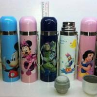Thermos DISNEY air panas / dingin, mickey, cars, donald, princess, HK