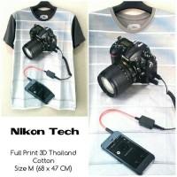 Kaos kamera Nikon Tech