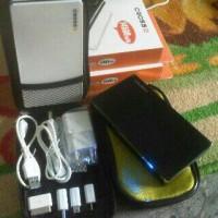 Powerbank CROSS 14500Mah 2Output Real Kapasitas Original