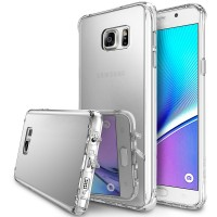 Rearth Ringke Fusion Mirror for Samsung Galaxy Note 5 - Crystal Clear