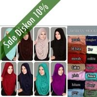 Hijab Instant Arabian Hoodie (Versi Premium)