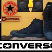 SEPATU CONVERSE ALL STAR HIGH FULL BLACK + BOX GRADE ORIGINAL