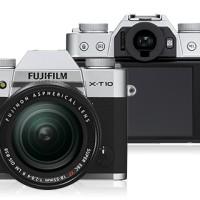 FUJIFILM X-T10 Kit XC16-50mm F3.5-5.6 OIS Silver