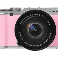 Fujifilm X-A2 Kit 16-50 + 16GB Pink (PT. Fujifilm Indonesia)