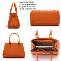 Tas COACH Set Clutch 7106 Semi Premium