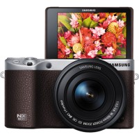 Samsung NX500 Kit 16-50mm 28MP - Cokelat