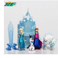 figurine frozen + istana castle