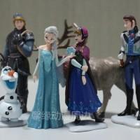 figurine frozen isi 6 glitter
