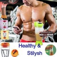 Jual Self Stirring Fitness Protein Shaker /Tumbler Murah