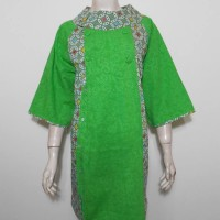 Dres Batik Kawung Jumbo / Sek Dress Big Size Tunik Batik Krah Kancing