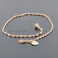 Gelang kaki emas ulir PZQ14014