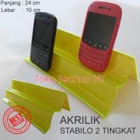 harga Akrilik Kursi Smartphone 2 Tingkat Tokopedia.com