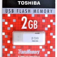 Flash Disk / Flashdisk USB Flash Memory Toshiba 2 GB Transmemory MURAH