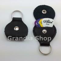 Pick Holder Key Chain / Gantungan Kunci Tempat Pik Gitar