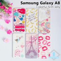 Samsung Galaxy A8 Colorful Slim Jelly Case