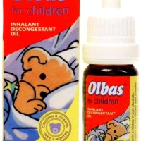Olbas for Children Untuk Pilek&Flu - Inhalant Decongestant Oil 10ml