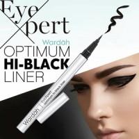 New Produk!!! Wardah Eyexpert Optimum Hi-Black Liner (Eyeliner Spidol)