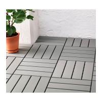 Ikea Runnen ~ Floor Decking Outdoor | Lantai Luar Ruangan | Abu2 Muda