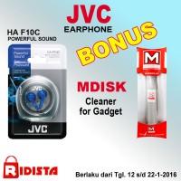 Earphone JVC HA-F10C+ Bonus Cleaner for Gadget F208